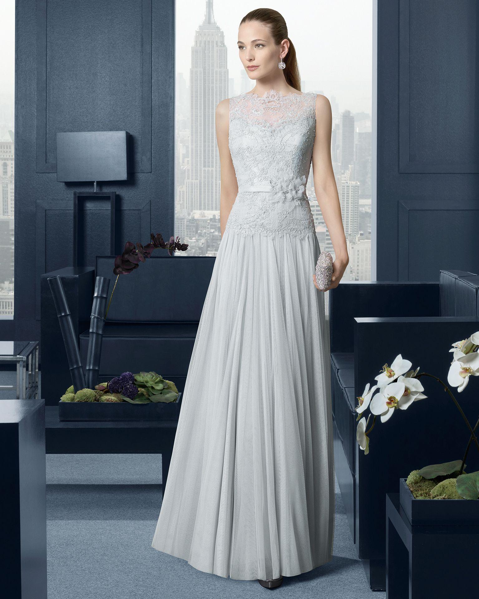 Accesorios para vestido de noche plata