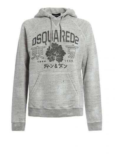 Sale Marketable Outlet Footaction hooded sweatshirt - Grey Dsquared2 Outlet Discount 100% Guaranteed b0bKR3nU8n