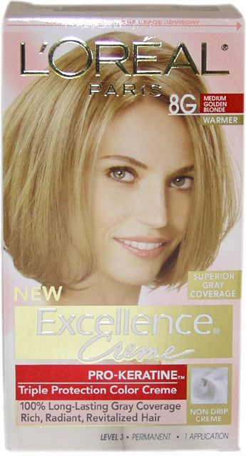 Unisex L Oreal Paris 8g Medium Golden Blonde Hair Color Blonde