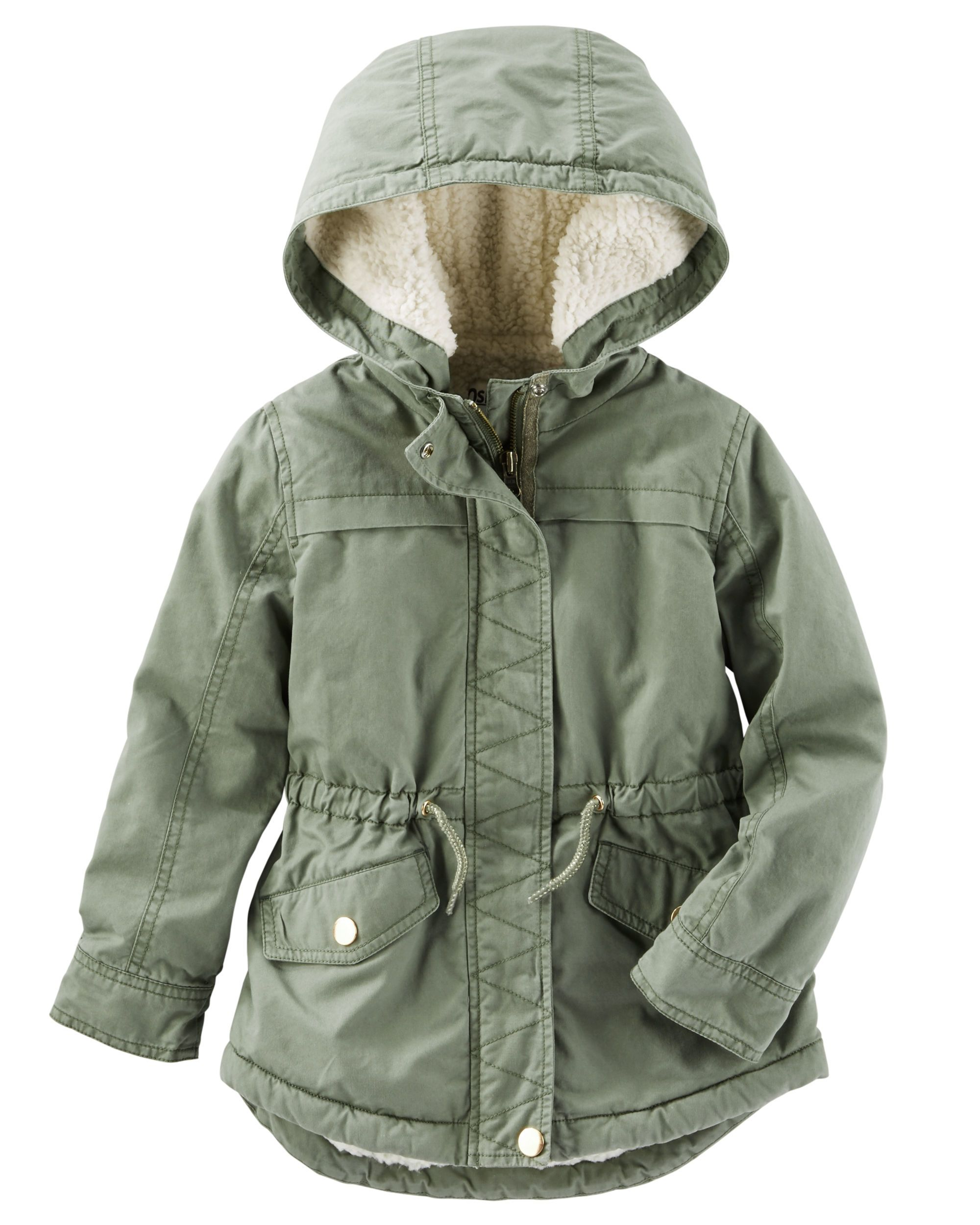 cd639120c55e Kid Girl Sherpa-Lined Parka from OshKosh B gosh. Shop clothing ...