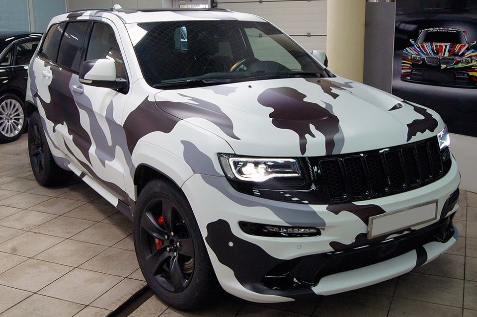 Jeep Grand Cherokee Srt White Camo Bienen