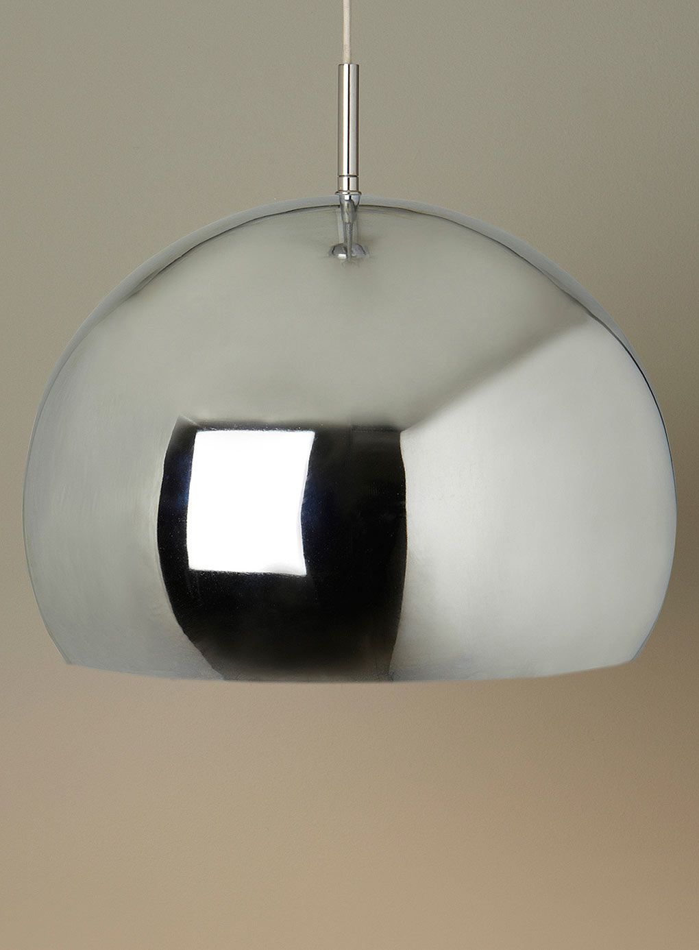 Chrome reno pendant bhs future move pinterest bhs lights reflect your surroundings with a retro inspired chrome pendant chrome reno pendant lighting essentials for the home mozeypictures Choice Image