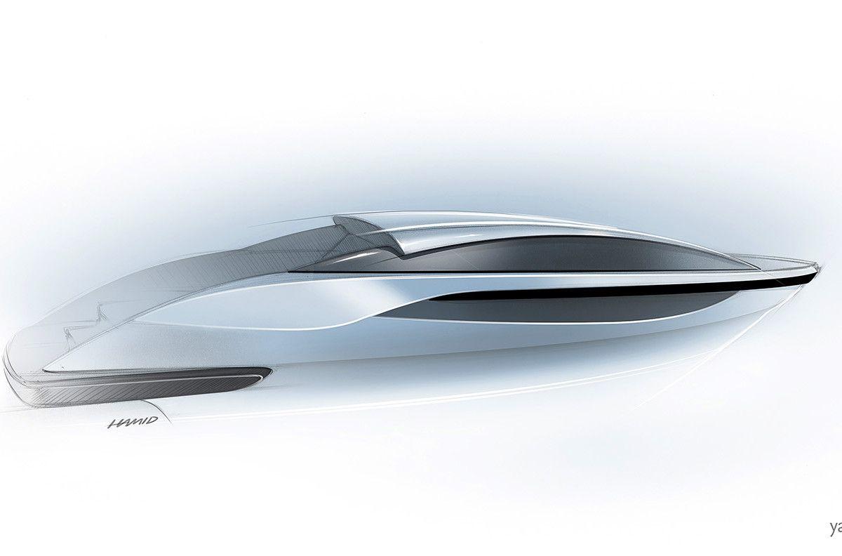 Cool Illustration and Presentation for Yacht Design \u0026 Interior ...