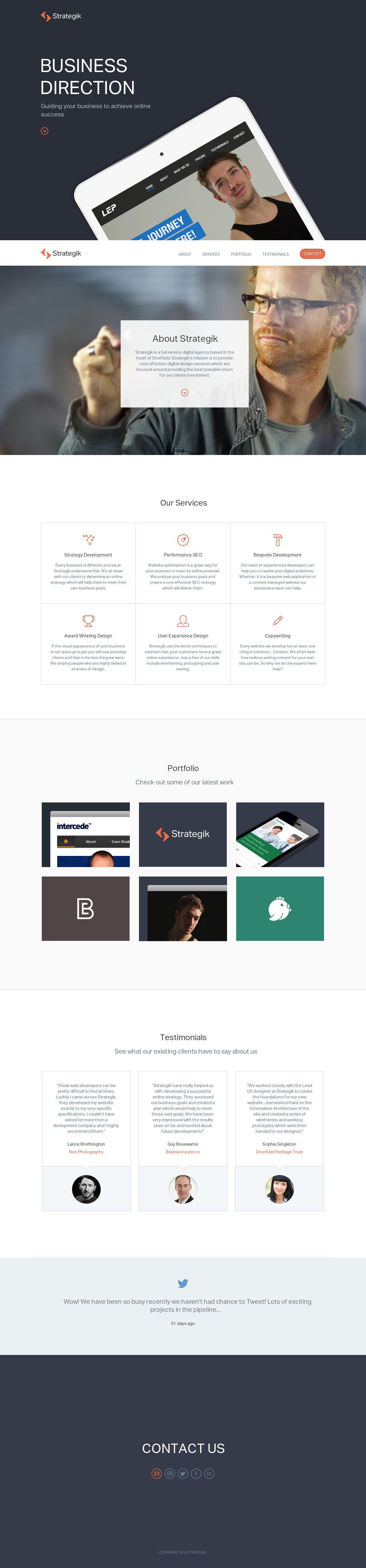 Strategik Webdesign Responsive Interactive Design