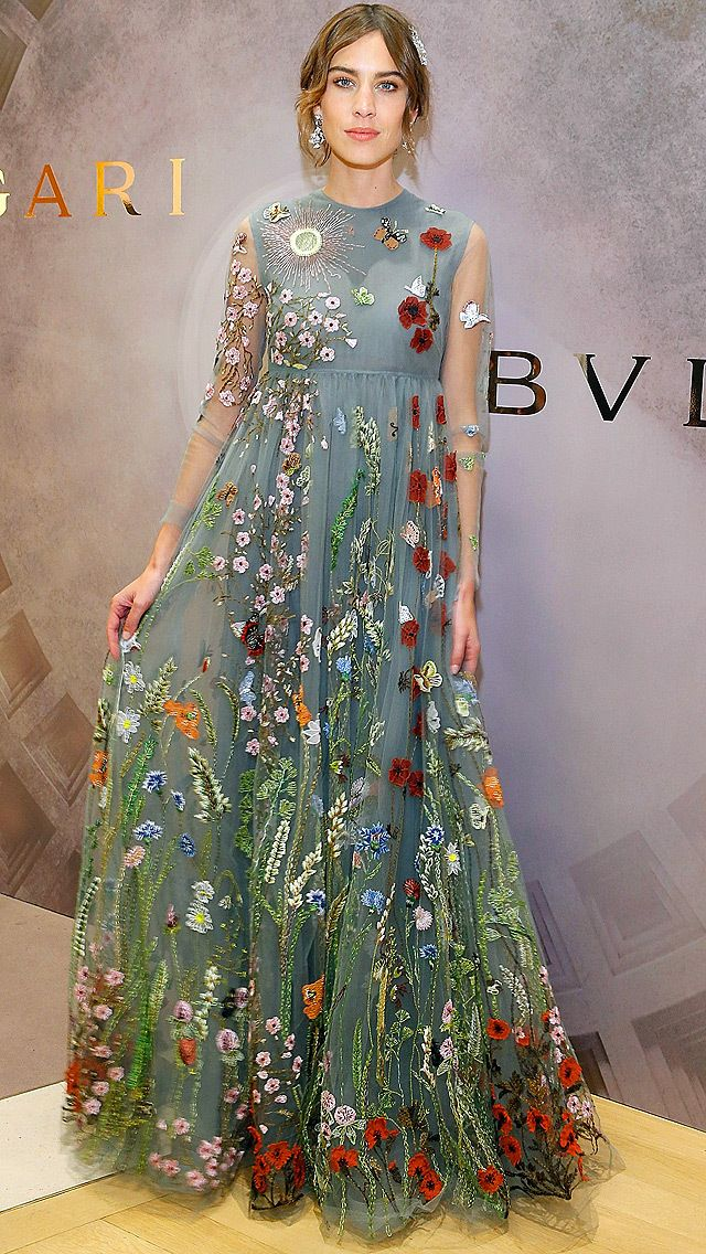 29222460d557c We can't stop talking about Kate Hudson's embroidered dress, Diane Kruger's  vibrant blue gown and more star looks