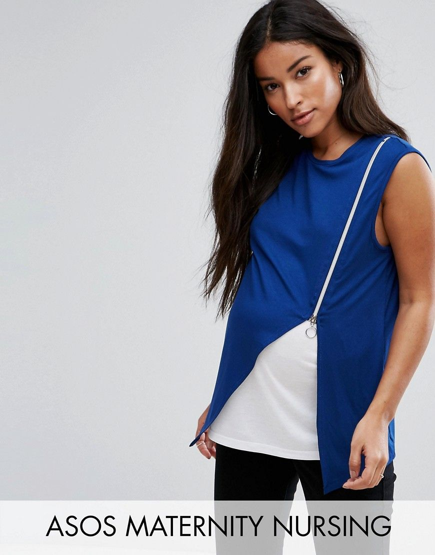 83effe1589528 Get this Asos Maternity s waistcoat now! Click for more details. Worldwide  shipping. ASOS