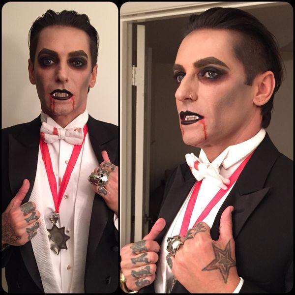 9ec1e465cc42e4d38ca36997aadb34fbjpg 600×600 pixels More Halloween - maquillaje de vampiro hombre