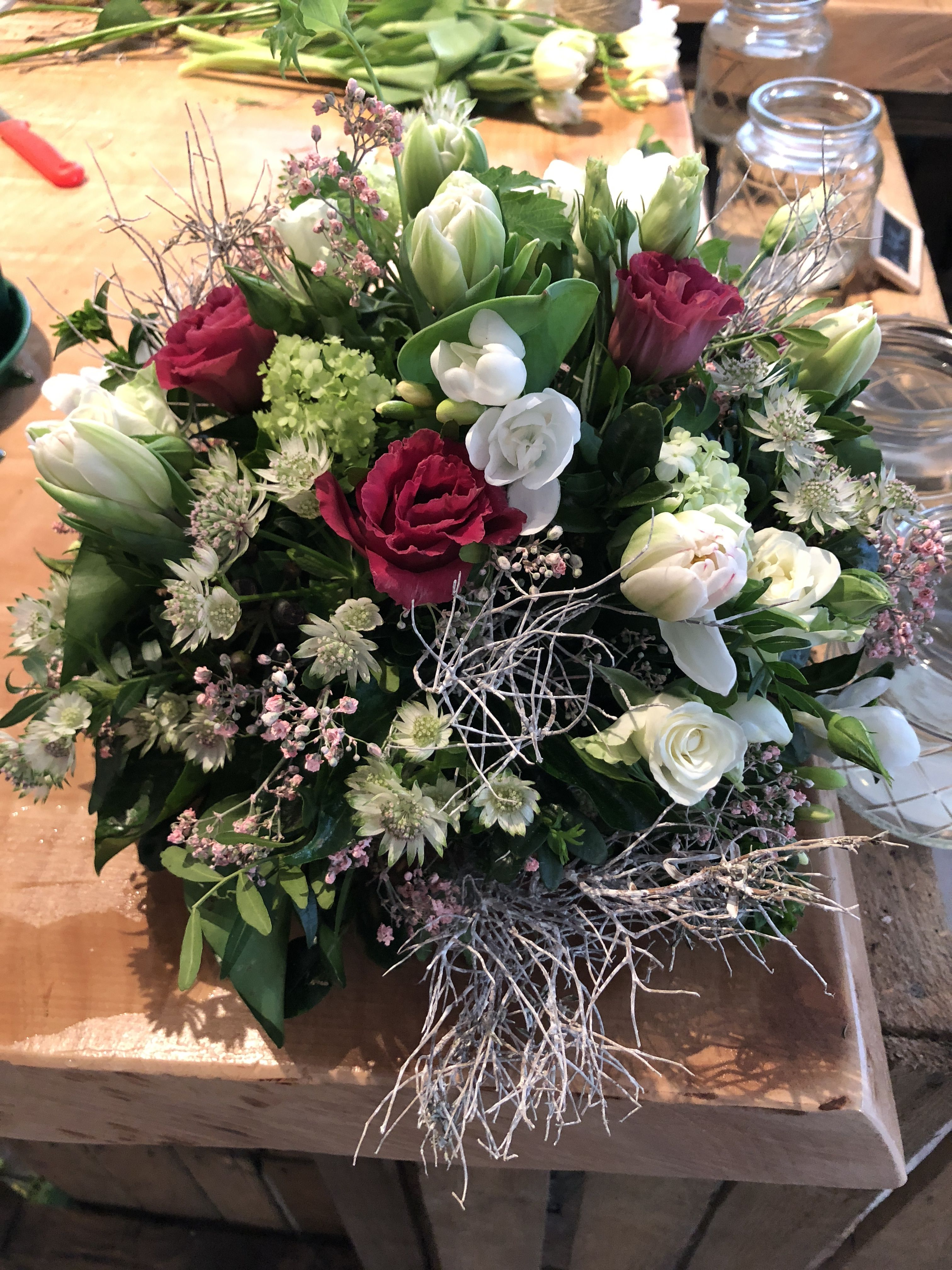 Garden Land Set Aside For The Cultivation Of Flowers Herbs Vegetables Or Small Flower Centerpieces Wedding Wedding Centerpieces Wedding Floral Centerpieces