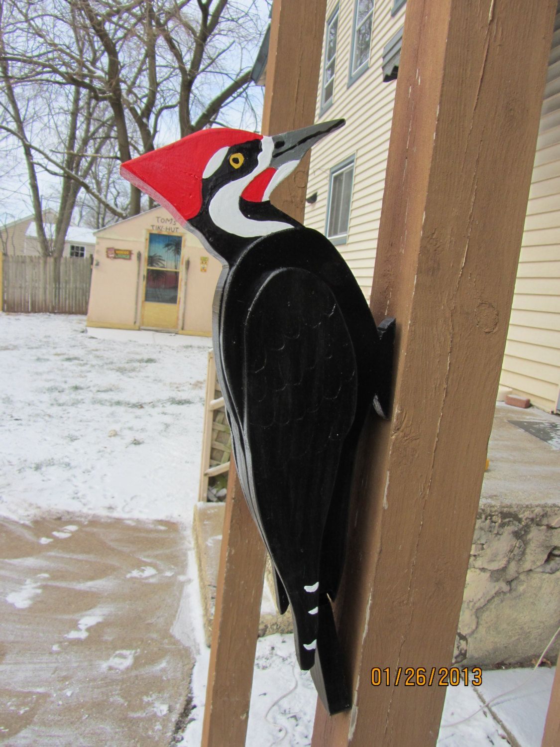 This is great! I love it! @Etsy 3D Giant Pileated Woodpecker | Etsy Art | Pinterest ...