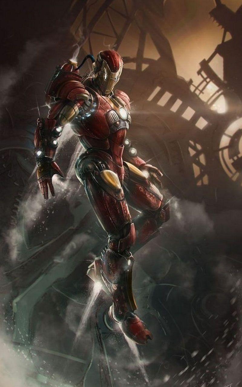 Iron Man Hd Wallpaper Steampunk Iron Man Marvel Iron Man Marvel