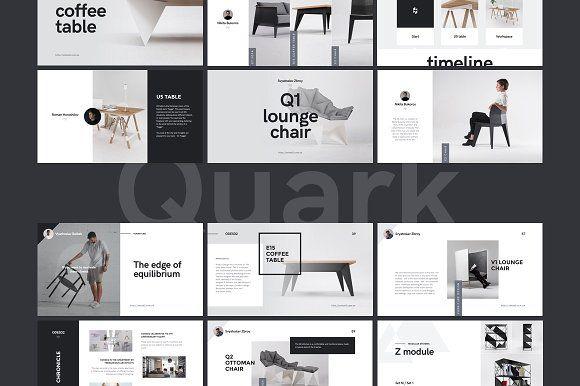quark keynote template    2 gifts by goashape on