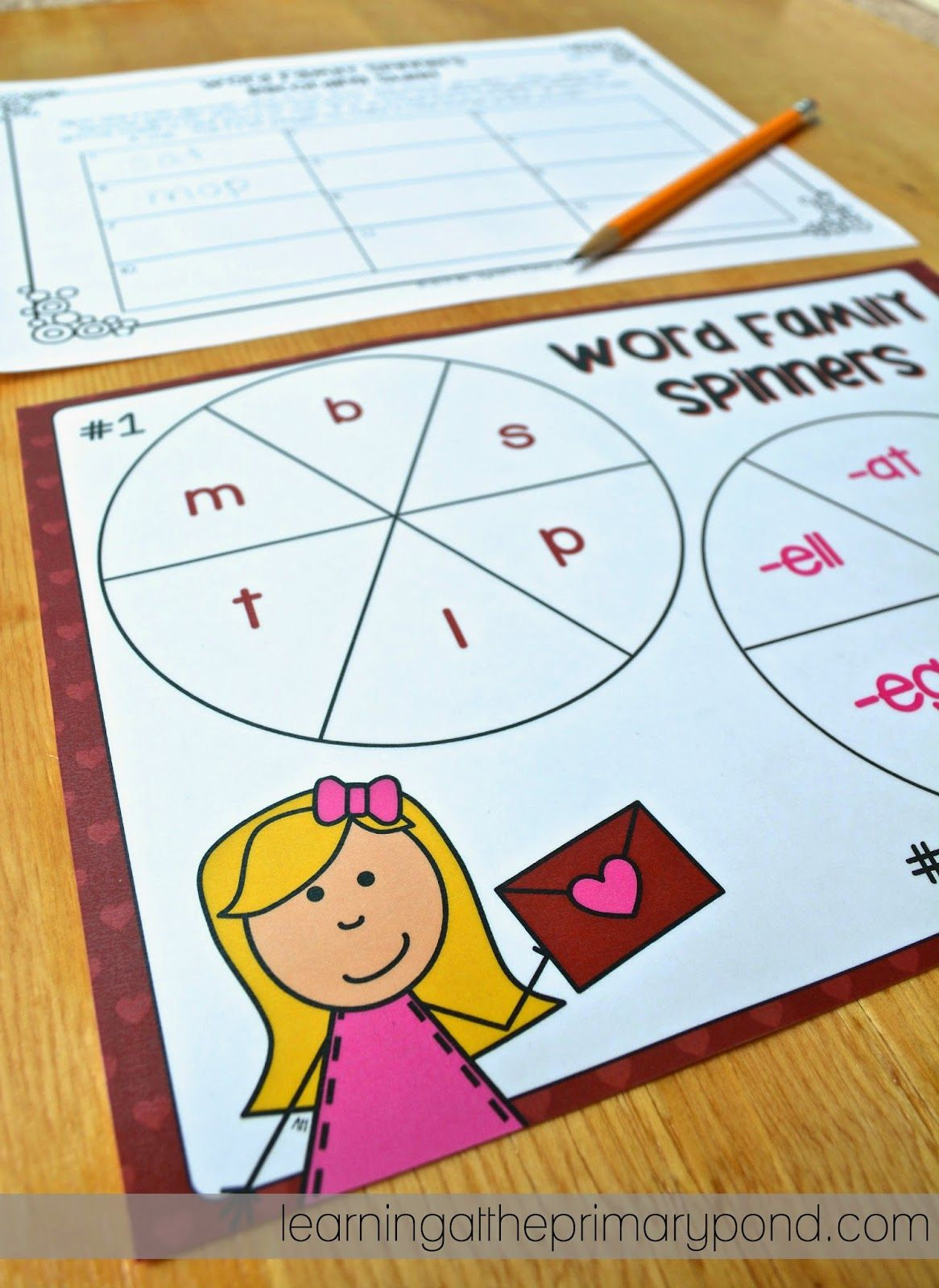 Letter Spin And Blend Game Pic For Kids