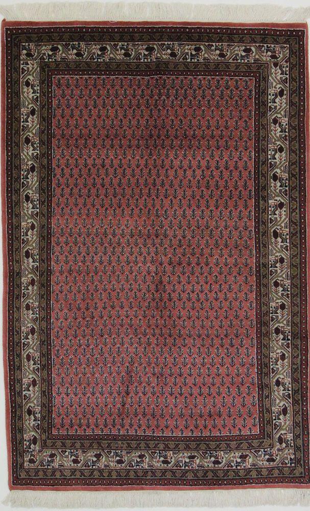 Sarug Mir Handgeknupft Orientteppich 180 X 120 Cm Rugs Teppich