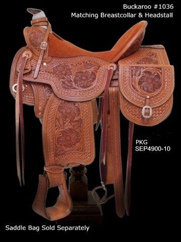 Dale Chavez Design - buckaroo saddle