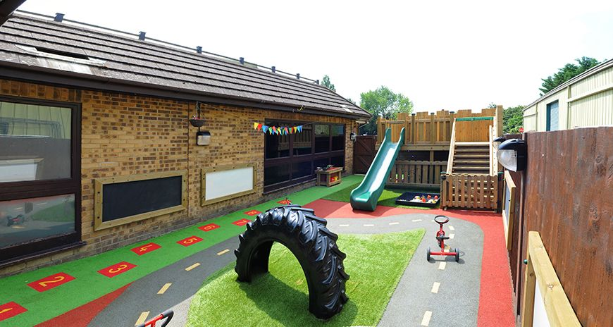 Woking children's day nursery, rated 'Outstanding' by