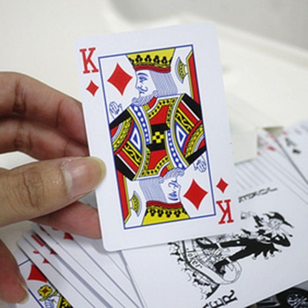 Waterproof Poker PVC Plastic Playing Cards Poker Card Game