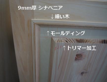 Diyでモールディングを使った家具の作り方 Izzie Life モールディング インテリア 収納 シャビーシック インテリア