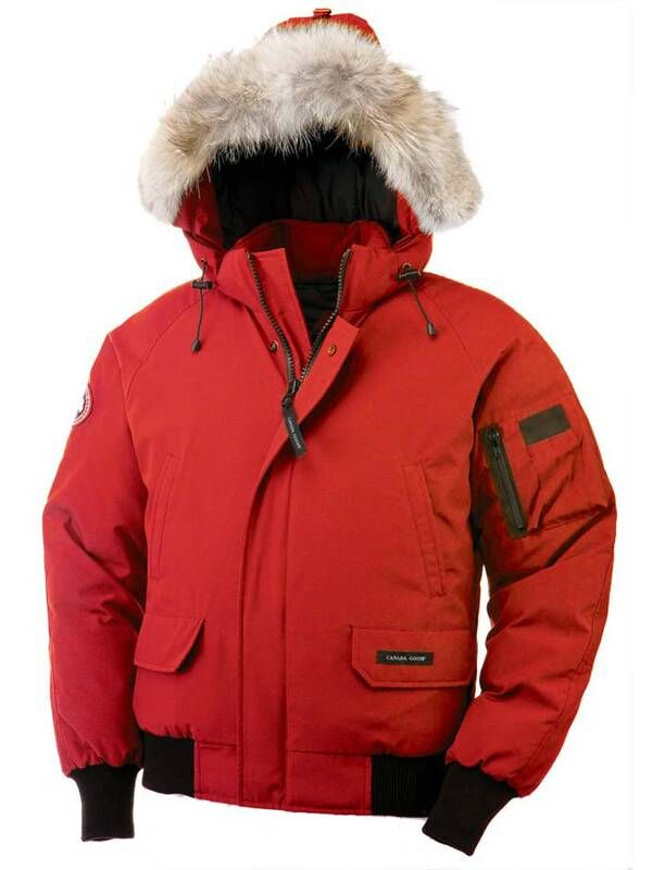 Warm Canada Goose Men Chilliwack Bomber Red Parka On Sale Save Big Buy Now 289 00 Fashion Rich Clothes Fashion Obsession