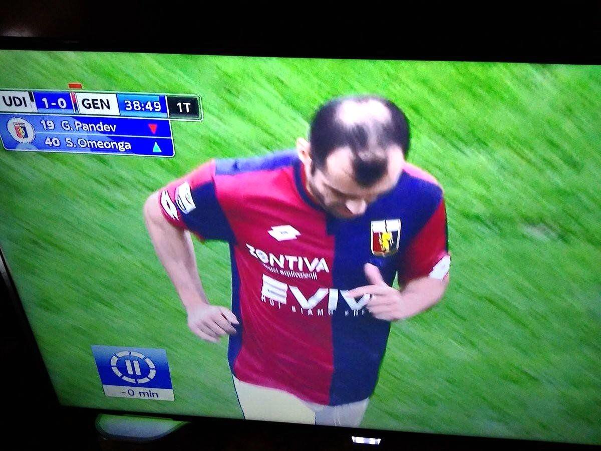 Tb To Goran Pandev S Unfortunate Bald Spot Footandball Http