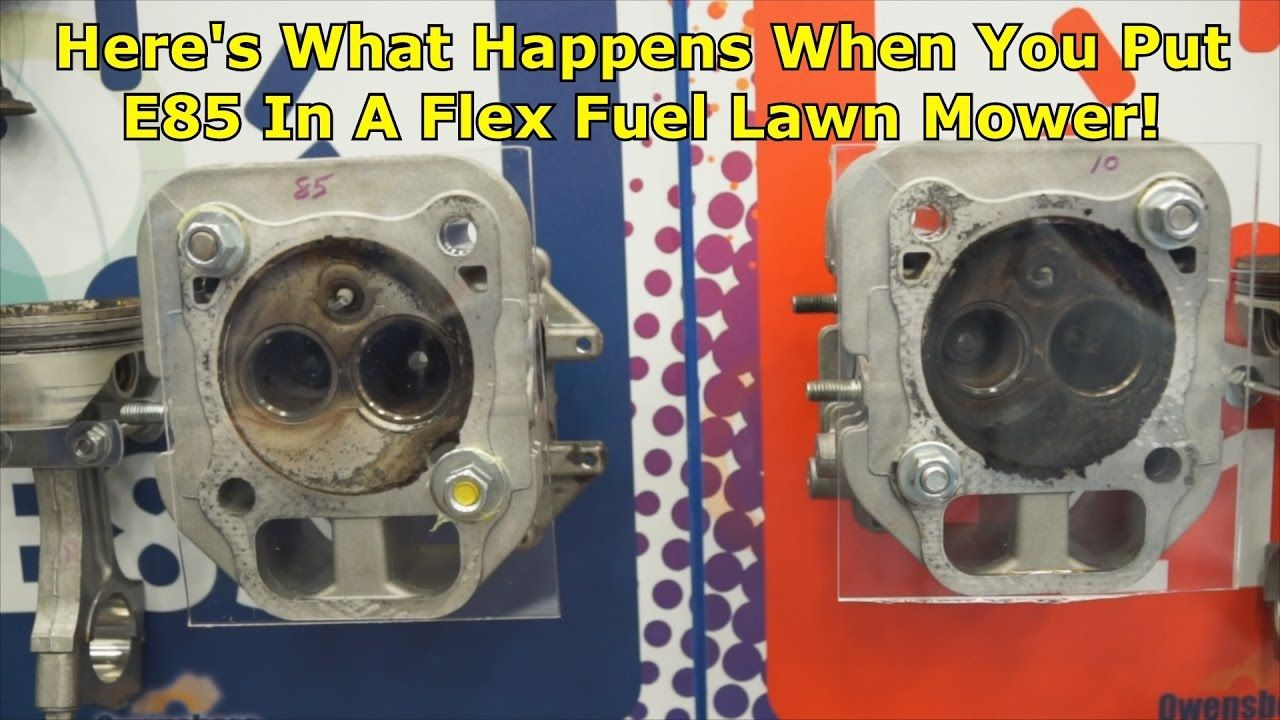 What Is Flex Fuel >> E85 In A Flex Fuel Lawn Mower Wrenchin Up Wrenchin Up