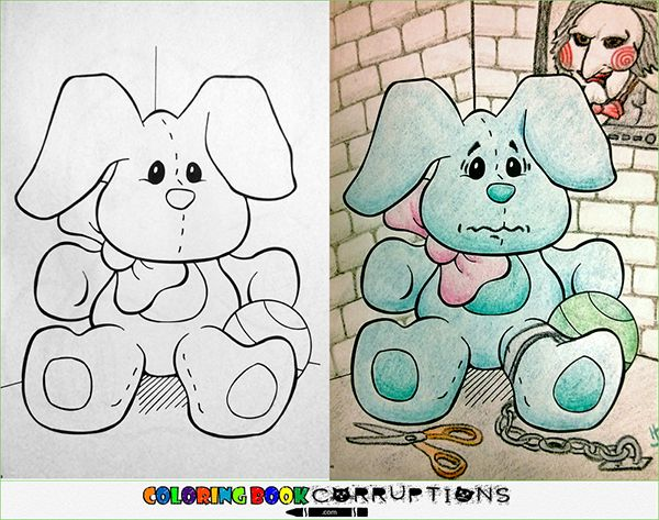 - 12 Coloring Book Corruptions Your Sick Little Mind Is Gonna Eat Up Kids  Coloring Books, Childrens Colouring Book, Coloring Books