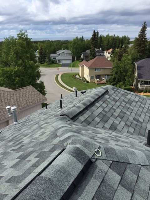 Premier Roofing Co 907 346 4131 Anchorage Alaska Malarkey 3m Legacy Shingles Oxford Grey Roofing Contractors Roofing Roofing Systems