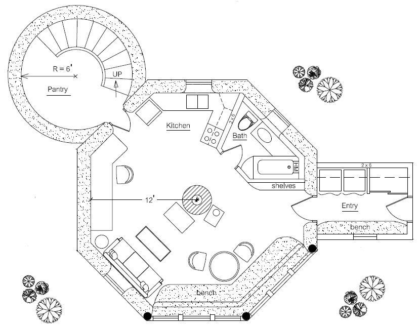 straw bale house plans pdf