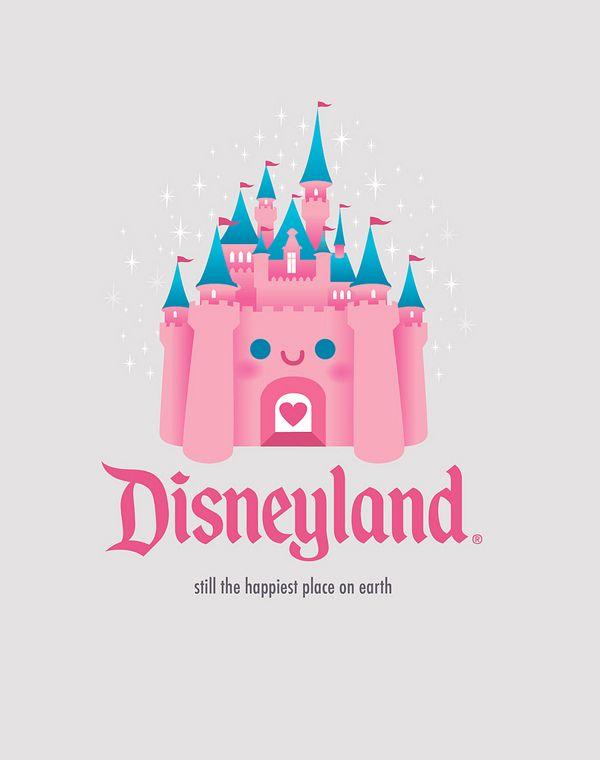 Kawaii Castle Disneyland By Jerrod Maruyama Art And Prints