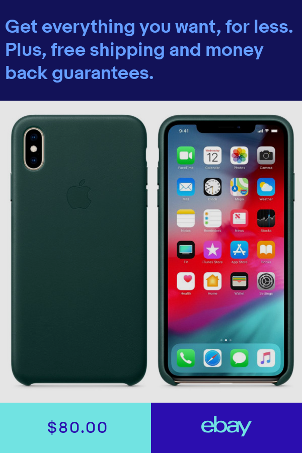 Apple Iphone Xs Xs Max Leather Case Genuine Original Apple Oem All Colors New Iphone Leather Case Apple Leather Case Iphone