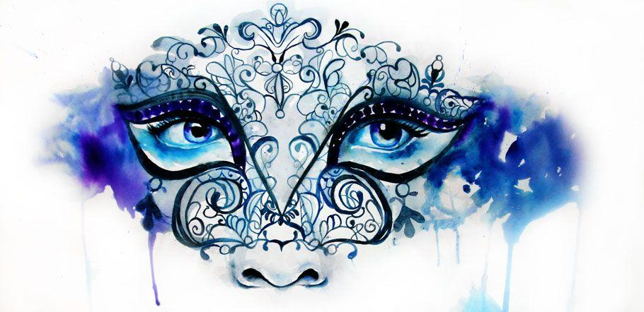 Watercolour Watercolor Art Illustration Painting Portrait Paint