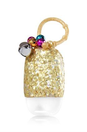 Gold Jingle Bell Pocketbac Holder Bath Body Works Bath
