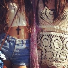 lace and denim