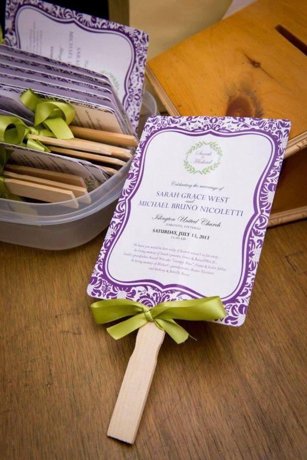 Wedding Program c/o Brienne Juniper