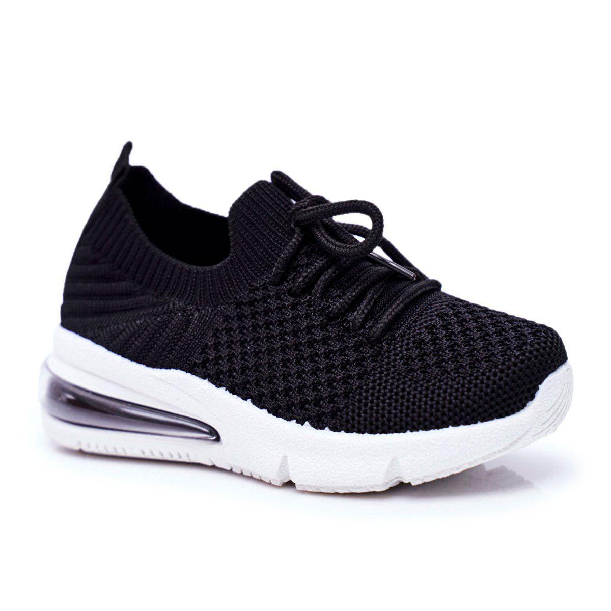 Frrock Obuwie Sportowe Dzieciece Sznurowane Czarne Lena Leather Shoes Woman Girls Shoes Shoes