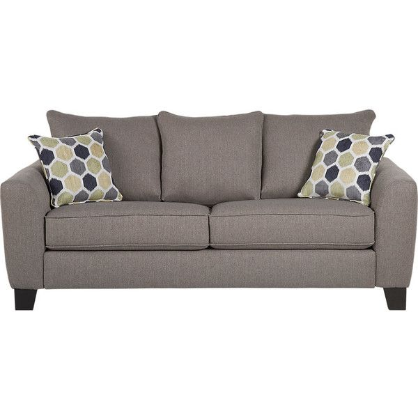 Pleasing Bonita Springs Gray Sleeper Sofa 650 Liked On Polyvore Andrewgaddart Wooden Chair Designs For Living Room Andrewgaddartcom