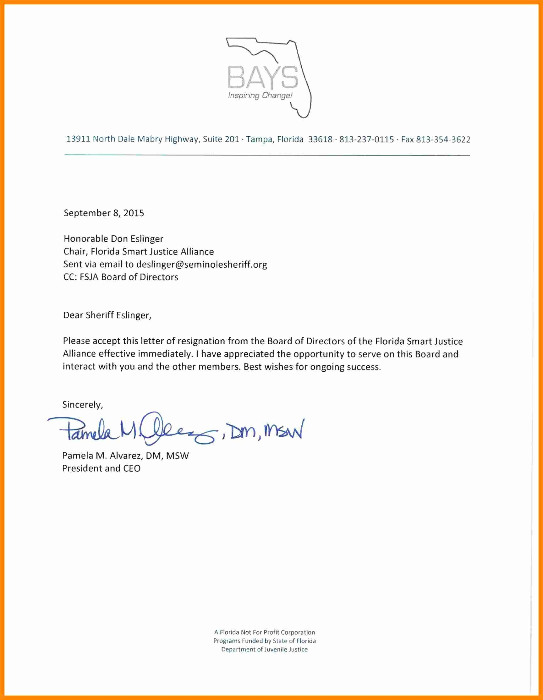 Format Of Resignation Letter From Board Of Directors from i.pinimg.com