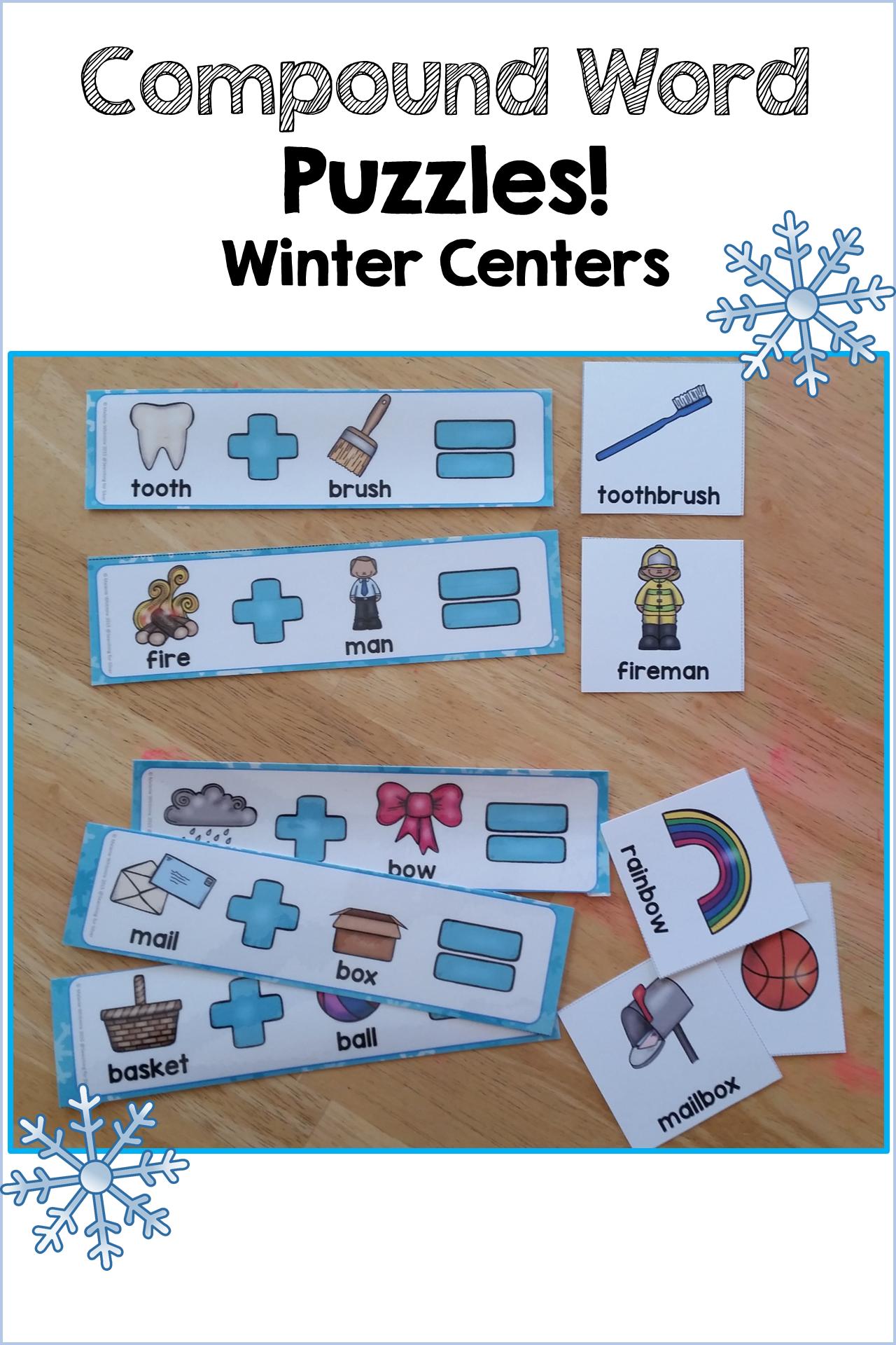 Winter Math Amp Literacy Centers 1st Grade