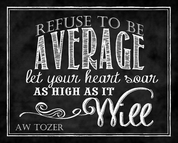 A. W Tozer Quotes | Found on etsy.com