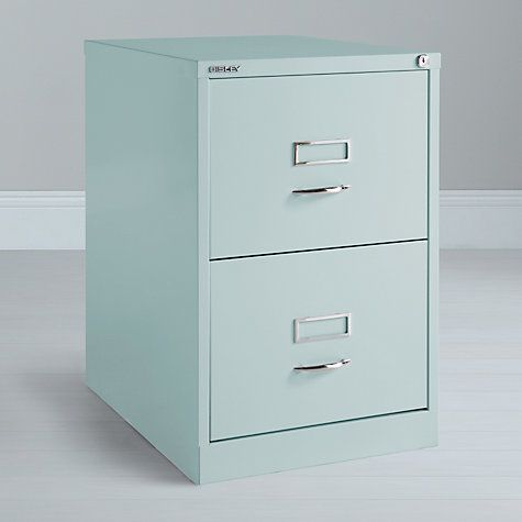 san francisco 8ed72 ad5b1 Bisley 2 Drawer Filing Cabinet, Green | ORGANIZING 123! in ...