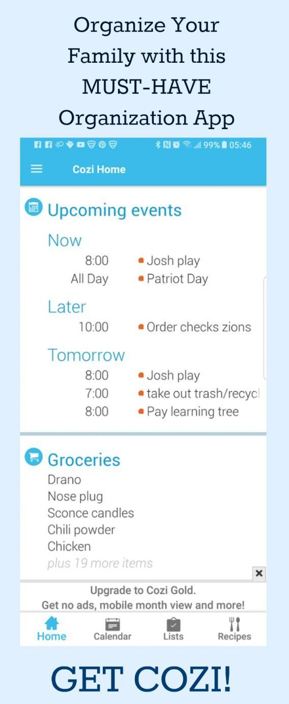 Organize Your Family with this MustHave Organization App