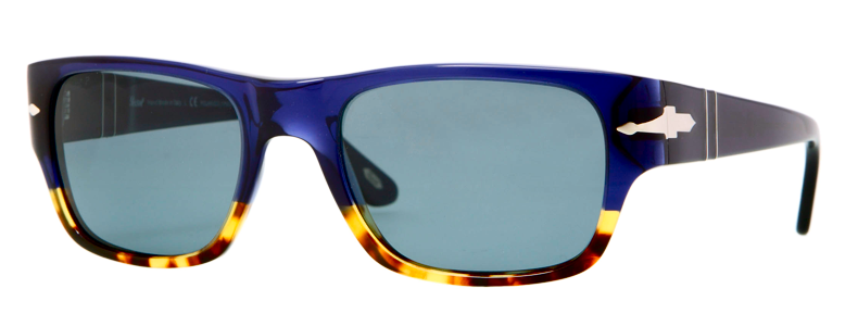 b091d075952 Persol - PO3021S - Frame  Blue Acetate w  Tortoise Brown - Lens   Polarized Photochromatic Blue