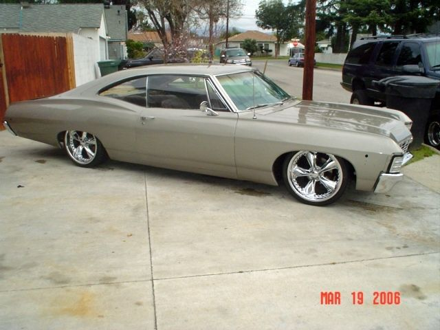 For Sale 1967 Chevy Impala Fastback Www Xtremetoyzclassifieds