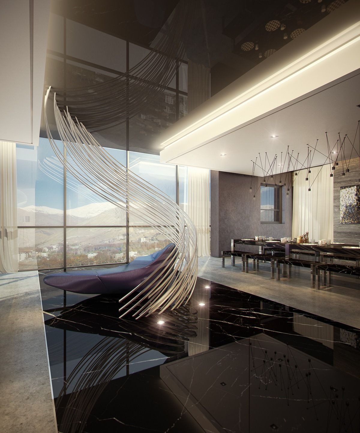 Apartement: Ultra Luxury Apartment Design