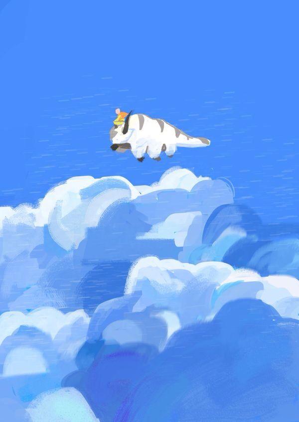 Sky bison Avatar airbender, Appa avatar, Avatar aang