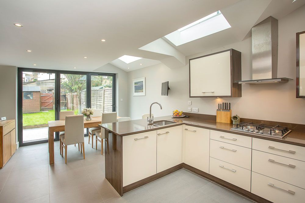 A single storey extension and loft conversion plus for Building a kitchen extension ideas