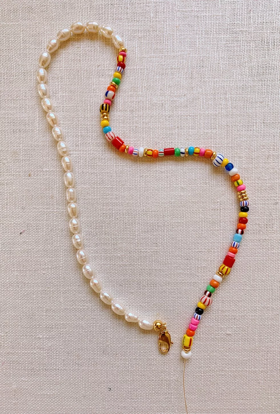 Photo of DIY Beaded Summer Necklaces  Honestly WTF