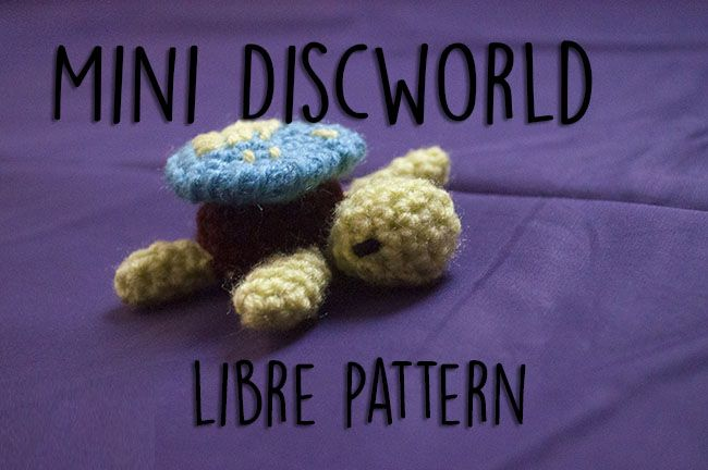 Mini Discworld amigurumi - free pattern