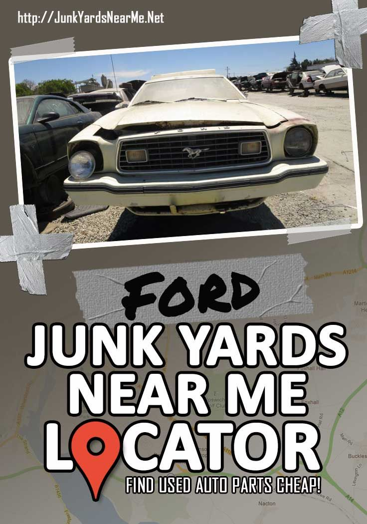 Ford Salvage Yards Near Me [Locator Map + Guide + FAQ