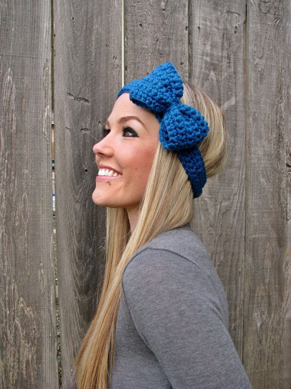 Photo/Cute crochet headband | ❥Knits≀Ṁạmi′s Ḅȯạṙḍ°• ➠ | Pinterest ...