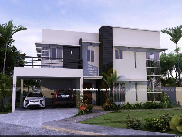This Modern Home Designs In Two Storey Is One Of The Best